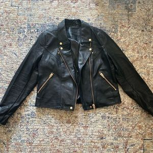 BLANK NYC faux leather jacket from Nordstrom